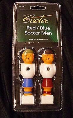 Cuetec Red & Blue Foosball Replacement Men