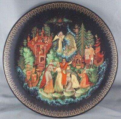 Tsar Saltan Russian Legends Collector Plate
