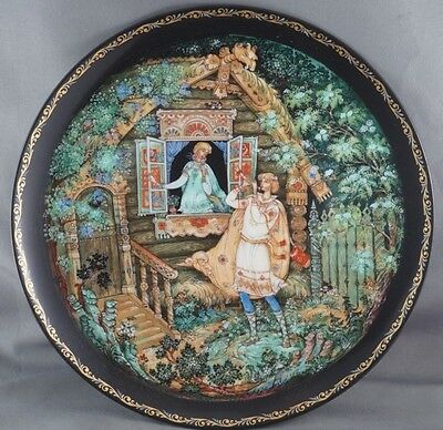 Lel's Serenade Sergei M. Dmitriev Russian Legends Collector Plate