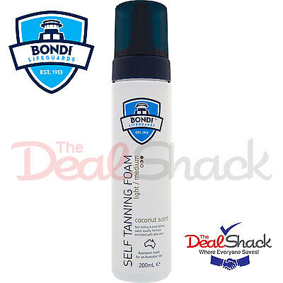 Bondi Lifeguard Tanning Foam Light / Medium 200Ml