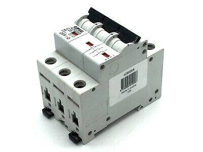 CLIPSAL 4CB325/6 Circuit Breaker 3 three Pole C25A 6Ka 25A C25 25 amp