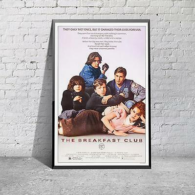 The Breakfast Club Movie Film Cinema Print Poster Picture A3 A4