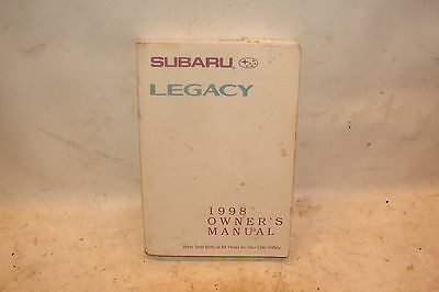 98 1998 subaru legacy owners manual 6 25 picclick rh picclick com 1998 subaru legacy outback owners manual 1998 subaru legacy outback owners manual