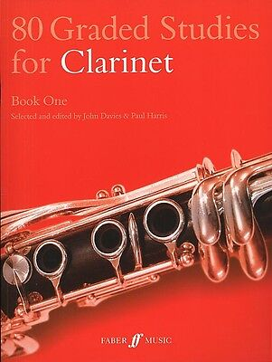 80 Graded Studies For Clarinet Book 1 Wind Instruments Score Sheet Music Classic