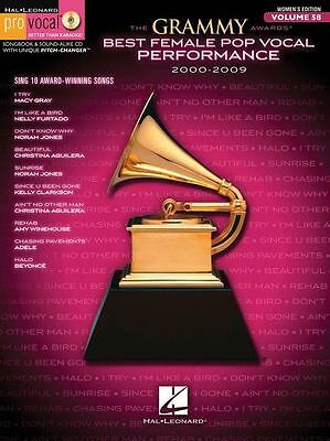The Grammy Awards: Best Female Pop Vocal Performance 2000-2009