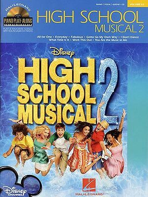 Piano Play-Along Volume 63: High School Musical 2