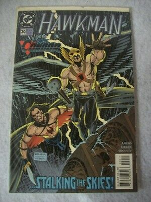 DC Comic Book - Hawkman # 20 May 95, Near Mint condition