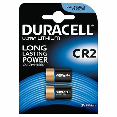 4 x CR2 Duracell 3V Ultra Lithium Photo Camera Batteries DLCR2 EXP 2024