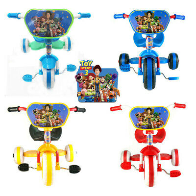 Toy Story Bike Trike Bicycle Tricycle Kid Child Toddler 3 Wheel Car Ride On Toy