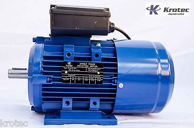 Electric motor single-phase 240v 0.55kw  3/4 hp 1410 rpm