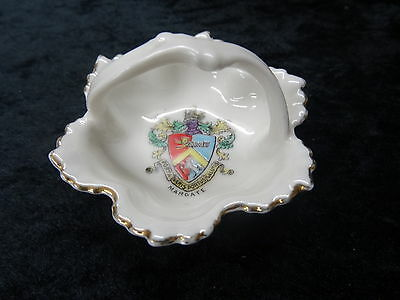 Gemma China Trinket Dish with Margate Crest.
