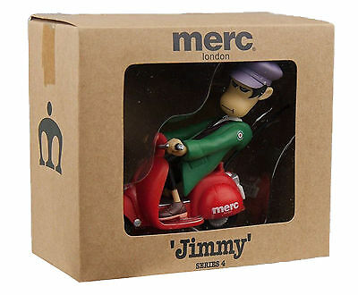Merc London Jimmy Character On Scooter In Box Limited Style Jimmy Series 4