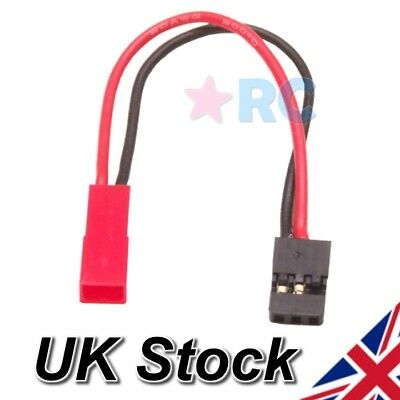 JST Female To JR / Futaba Male RC Power Connector Lead Conversion Adaptor Cable