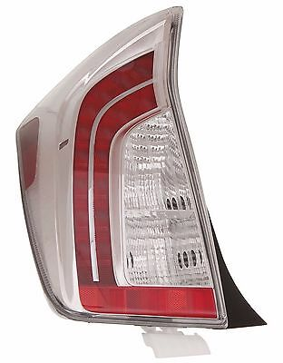 2012 - 2015 Toyota Prius Rear Tail Lamp Light Driver Left Side