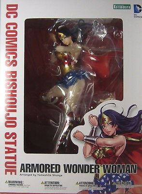 Kotobukiya DC Comics Bishoujo Statue Collectibles WONDER WOMAN ARMORED  NEW