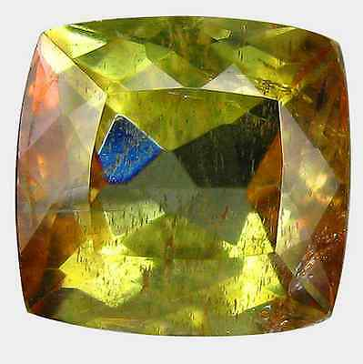 1.27 ct Natural Unheated Cushion-cut Multi-Color/Brown SI Andulasite (Brazil)
