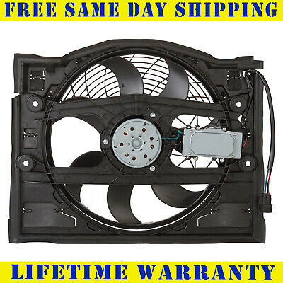 AC Condenser Cooling Fan For Bmw Fits 320 323 325 328 330 E46 BM3020100