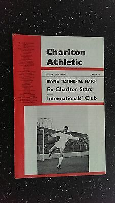 Ex-Charlton Stars V International Club 1965-66