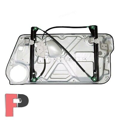 New Power Window Regulator w Panel Front Left Driver Side Fits Beetle 1C0837655A