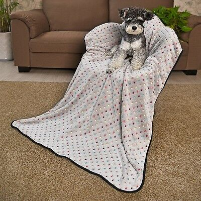 Pet Blanket New Cute Dot Design Dog Mat Bed Cover Kennel Cushion Crate Pad Mat
