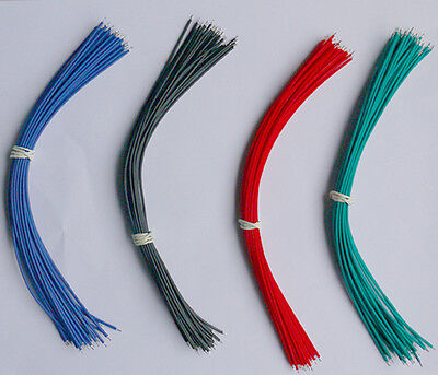 120PCS 20CM 4 Colors Two Ends Tin-plated Breadboard Jumper Cable Wires
