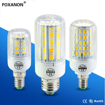 E27 LED Corn Bulb 5730 SMD Warm Cool White Lamp AC220V110V Light 7/ 9/12/15/25W