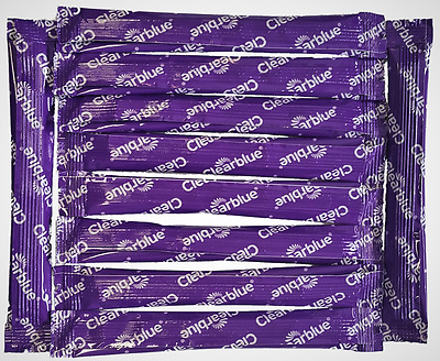 10 X Clearblue Adv Ovulation Fertility Monitor Sticks for OLD MONITOR (Purple)