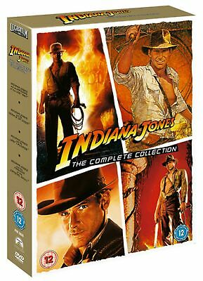 Indiana Jones: The Complete Collection (Box Set) [DVD]