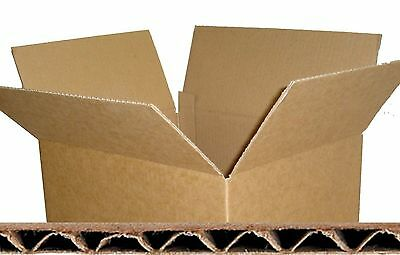 Single Wall - Quality Postal Mailing Cardboard Cartons Boxes *all Sizes*