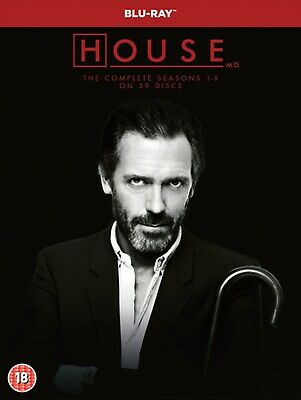 House: The Complete Seasons 1-8 (Box Set) [Blu-ray]
