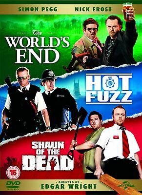 The World's End/Hot Fuzz/Shaun of the Dead [DVD]