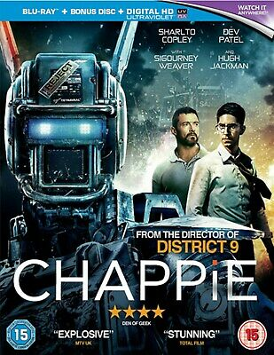Chappie (with UltraViolet Copy) [Blu-ray]