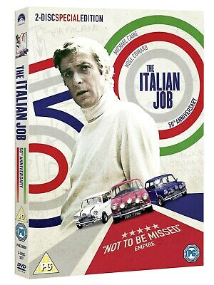 The Italian Job (40th Anniversary Edition) [DVD]
