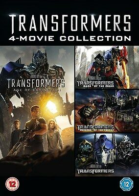Transformers: 4-movie Collection (Box Set) [DVD]