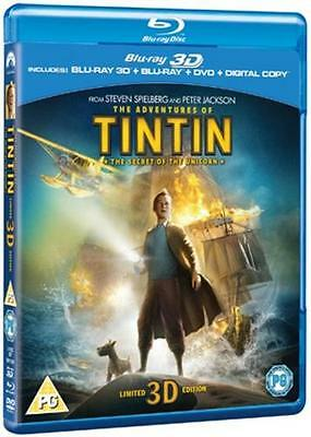The Adventures of Tintin: The Secret of the Unicorn (3D Edition + 2D Edition +