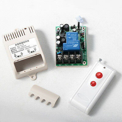AC 240V Long Distance High Current 30A Relay RF Wireless Remote Control Switch