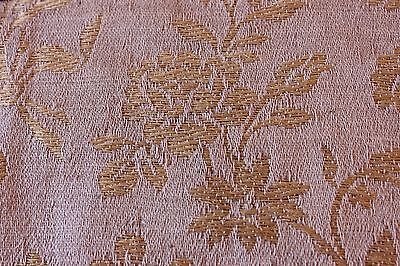 "French 19thC Antique Home Furnishing Woven Jacquard Fabric c.1870~12""LX20""W"