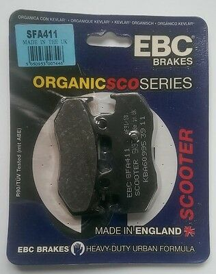 Suzuki AN250 / AN400 (2001 to 2006) EBC Kevlar REAR Brake Pads (SFA411) (1 Set)
