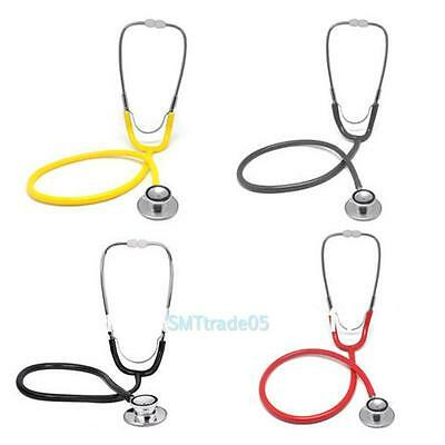 Pro Dual Head EMT Clinical Stethoscope Nurses Doctor Medical Auscultation Device