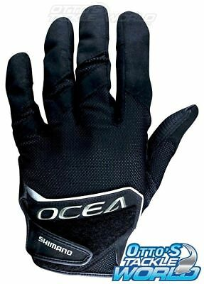 Shimano Ocea Fishing Jigging Gloves Pair (Large) BRAND NEW @ Otto's Tackle World