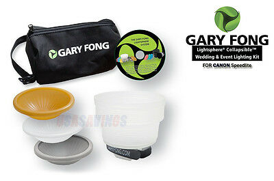 Gary Fong Speed Mount Collapsible™Kit FOR  CANON 600-RT 430EX II