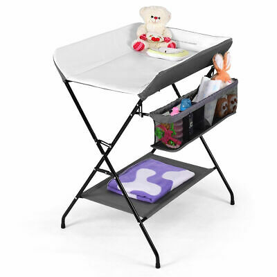 Infant Baby Travel Cot Bed Play Pen Child Bassinet Playpen Entryway W Mat 2 in 1
