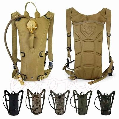 2.5 L Hydration System Water Drinks Bladder Bag Backpack Camping Hiking Survival