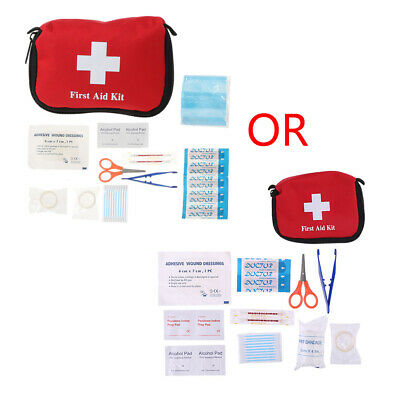 1st First Aid Kit Carry Bag Pouch Camping Car Emergency Holiday Travel