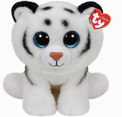 Ty Beanie Babies 90219 Tundra the White Tiger Buddy Classic
