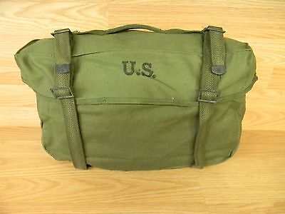 ORIGINAL US ARMY SURPLUS M1945 CARGO FIELD PACK BAG DATED 1950's ISSUED USMC