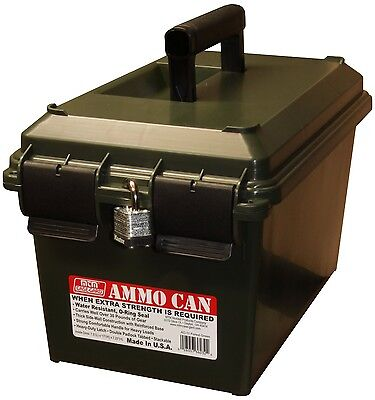 New Authentic MTM Advanced Durable Ammo Can Case Forest Green AC11