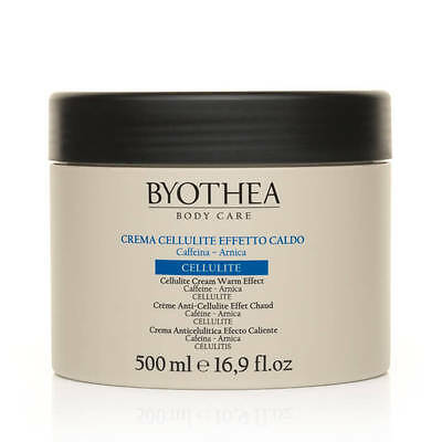 Byothea Cellulite Cream with Warming Effect, Cellulite Treatment, 500 ml