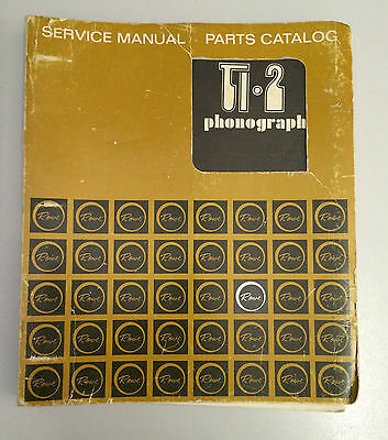 JUKEBOX MANUAL - ROWE Ti 2 SERVICE MANUAL AND PARTS CATALOG