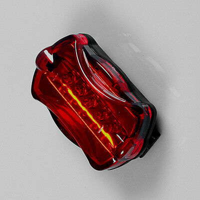 Waterproof LED Bike Bicycle Safety Front Tail Light Lamp Back Rear Flashlight